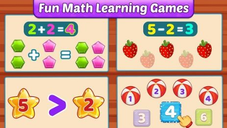 Скриншот Math Kids — Add, Subtract, Count, and Learn