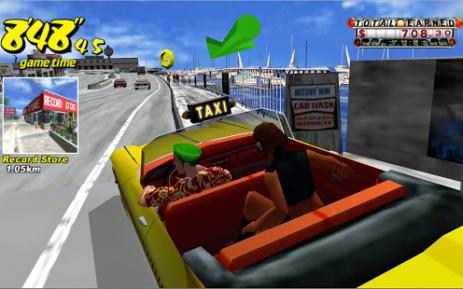Скриншот Crazy Taxi Classic