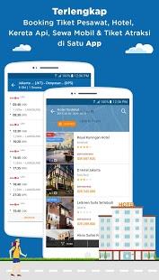 Скриншот Tiket.com – Tiket Pesawat, Kereta, Booking Hotel