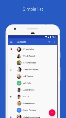 Контакты | Android