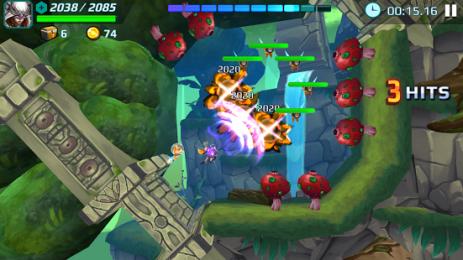 Скриншот Jetpack Fighter