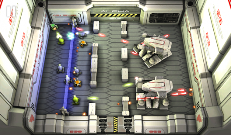 Скриншот Tank Hero: Laser Wars