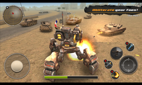 Скриншот Легион Меха: возраст роботов