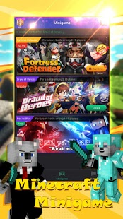Скриншот Мультиплеер для майнкрафт