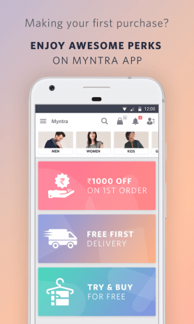 Myntra Online Shopping App | Android