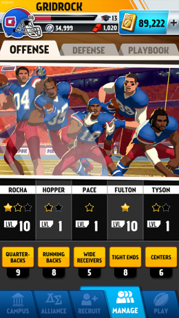 Скриншот Rival Stars College Football