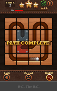 Скриншот Roll the Ball®: slide puzzle 2