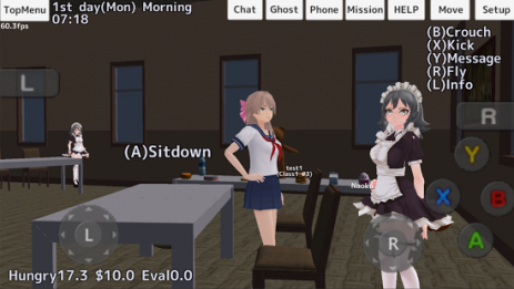 Скриншот School Girls Simulator