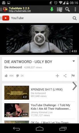 descargar youtube downloader apk