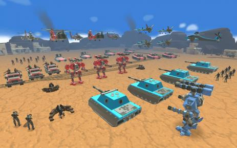 Скриншот Army Battle Simulator