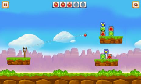Скриншот Angry Chicken – Knock Down