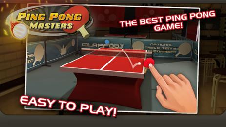 Скриншот Ping Pong Masters