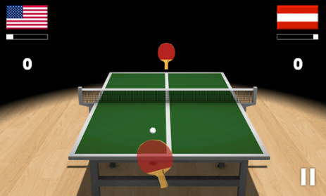 Скриншот Virtual Table Tennis 3D