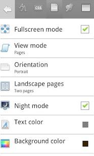 Скриншот Cool Reader