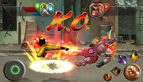 Скриншот Street Fighting: City Fighter