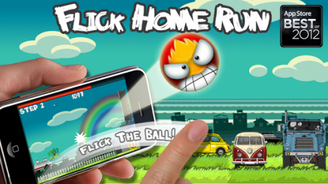 Flick Home Run! baseball game | Android