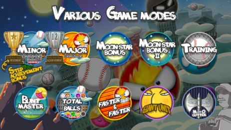 Скриншот Flick Home Run! baseball game