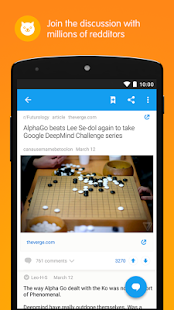 Скриншот Reddit: Top Trending Content – News, Memes & GIFs