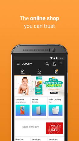Скриншот JUMIA Online Shopping 0