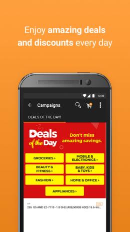 Скриншот JUMIA Online Shopping 3