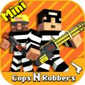 Cops N Robbers – FPS Mini Game - icon
