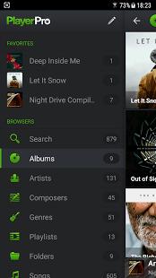 Скриншот PlayerPro Music Player Trial