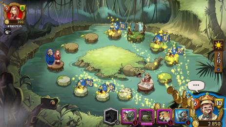 Скриншот JUMANJI: THE MOBILE GAME