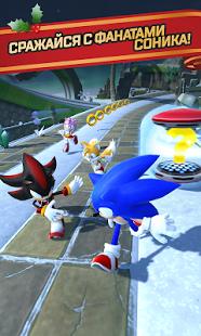 Скриншот Sonic Forces: Speed Battle 1