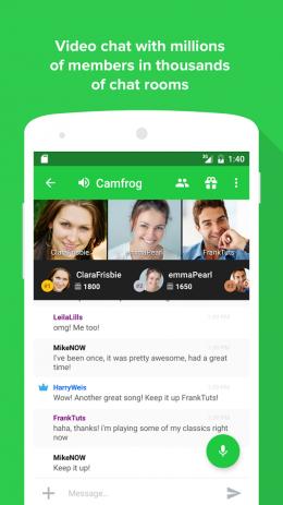Скриншот Camfrog – Group Video Chat