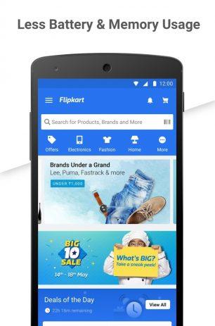 Скриншот Flipkart Online Shopping App