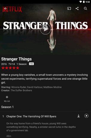 Скриншот Netflix