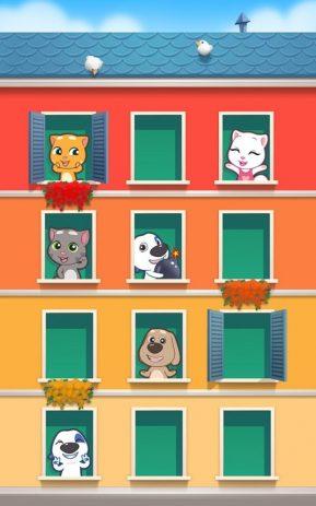 Скриншот говорящий кот Том