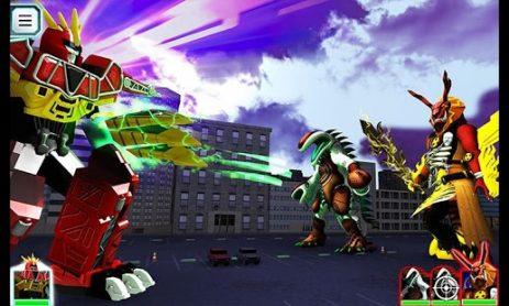 Скриншот Power Rangers Dino Charge