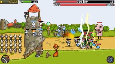 Скриншот Grow Castle