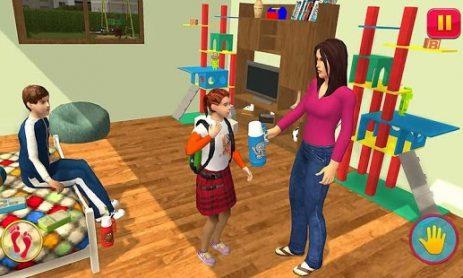 Скриншот Virtual Mom: Happy Family 3D