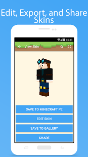 Скриншот Skins for Minecraft