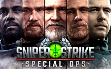 Скриншот Sniper Strike : Special Ops