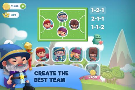 Скриншот WIF Soccer Battles