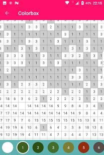 Скриншот PaintBox - Раскраска антистресс по цифрам Sandbox