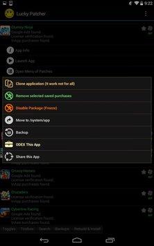 Скриншот Lucky Patcher 6.5.5
