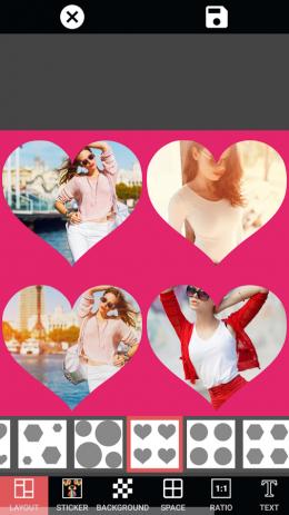 Скриншот Редактор фотографий Фотоэффекты и стикер и фильтр