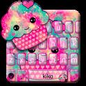 тема для клавиатуры Tasty Cupcake