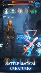 Скриншот Maguss – Wizarding MMORPG