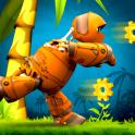 Скачать Maxim the robot: Run & Jump