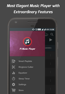 Скриншот Pi Music Player 0