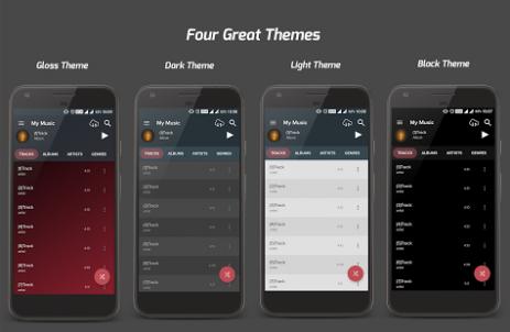 Скриншот Pi Music Player 1
