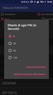 Скриншот WIFI WPS WPA TESTER 3