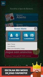 Скриншот Buraco Jogatina: Jogo de Cartas Grátis