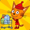 Три Кота Магазин Игра: Детские Развивающие Игры android