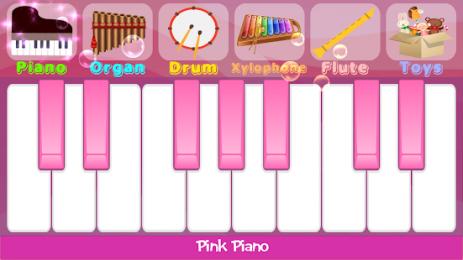 Скриншот Pink Piano